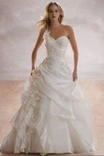 Cheap Price ! Good Quality ! 2014 New Arrival Free Shipping Beading Sweetheart Applique White / Ivory Wedding Dresses OW4042