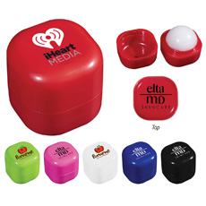 Hadiah Kreatif Kompak Layar Logo Wanita Menggunakan Wadah Kemasan Organik Alami Telur Roller Bulat Bola Natural Lip Balm