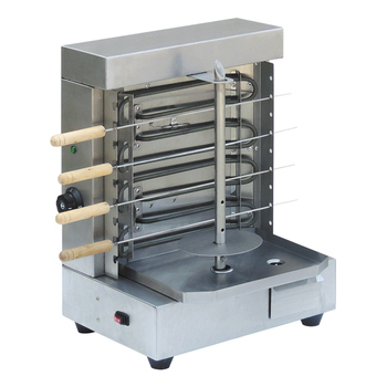 220V 4KW Electric vertical Kebab Machine Kebab Maker Grill with BBQ Skewers