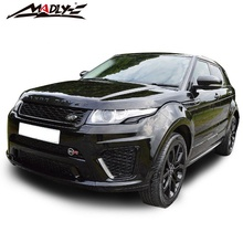 2016-2018 SVR Style kits de <span class=keywords><strong>Carrosserie</strong></span> pour Land <span class=keywords><strong>Rover</strong></span> <span class=keywords><strong>Range</strong></span> <span class=keywords><strong>Rover</strong></span> Evoque kits de <span class=keywords><strong>Carrosserie</strong></span> PP SVR Style kits de <span class=keywords><strong>carrosserie</strong></span> pour 2018 <span class=keywords><strong>Range</strong></span> <span class=keywords><strong>Rover</strong></span> Evoque