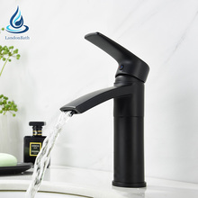 Artistic brass matt-black black sink water saving faucet upc 61-9 nsf bathroom faucet