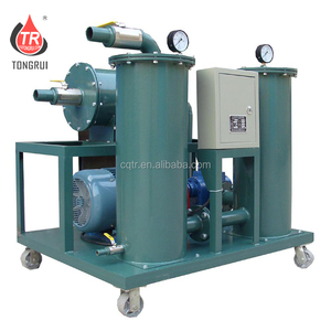 Portable Hydraulic Oil Purifier Machine/used oil cleaning plant for removing impurities
