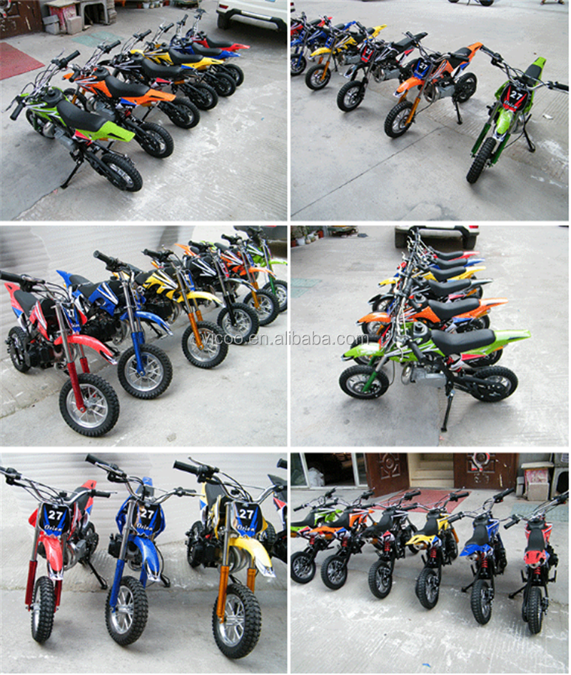 CE 49CC Mini Moto Pit Bike 49cc Dirt bike 49cc Kids Motocross Gas Scooter