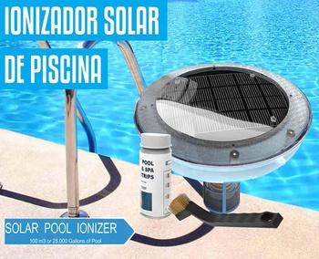 Solar Swimming Pool Water Ionizer Buy Solar Pool Ionizer