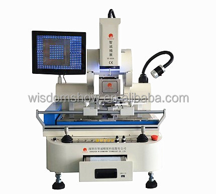 WDS-800 Full Auto infrared quick soldering BGA rework station for Xbox\360\PS3\Wii Notebook motherboard Repair