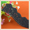 Cheap new design embroidery swiss cord lace trim wholesale for dress women garments curtains