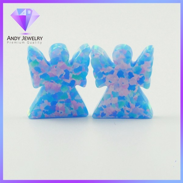 Best selling synthetic opal angel for jewelry making