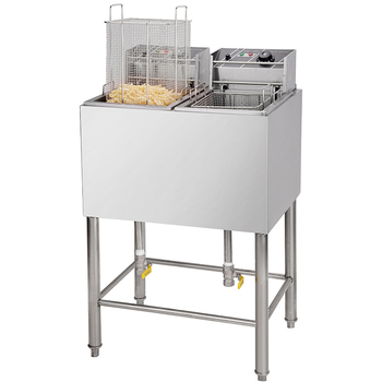 Professional manufacturing Commercial ELectric Double Fryer