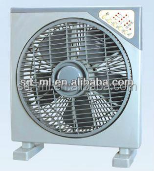12 Inch Box Fan With Remote Control Small Box Fan/office Use