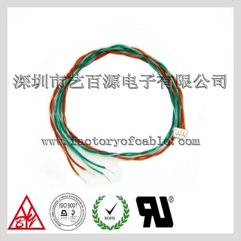 4 Pin Terminal Wire Harness Wire Twisted Pair 4 Pin Ribbon Cable -  Automotive Wire Harness on