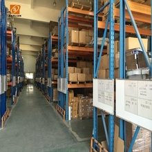 Warehouse stacking heavy duty pallet storage rack