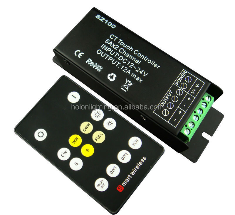 Hot Selling Rf Led Controller Led Dual White Controller Led Strobe ...
