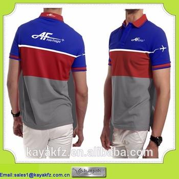 7659968e Custom polo t shirts lastest new design color combination polo t shirt