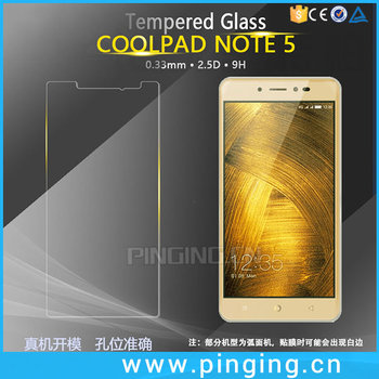 Factory Price Anti-scratch Screen Protector For Coolpad Note 5 Tempered  Glass - Buy Screen Protector For Coolpad Note 5,Anti-scratch Screen  Protector