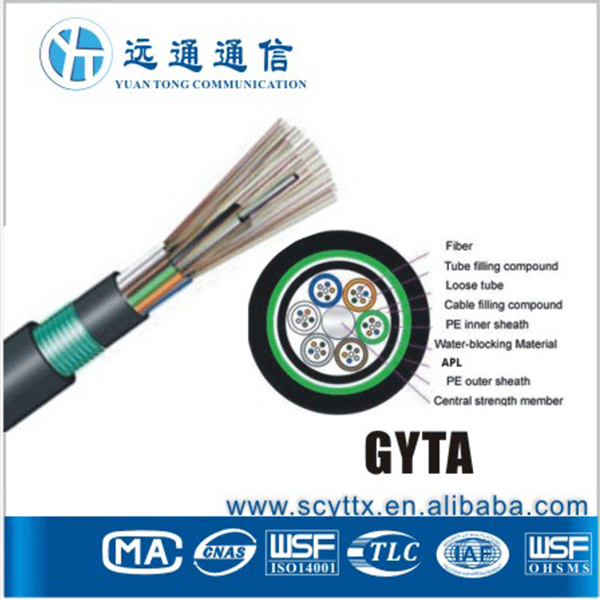 PBT loose tube fiber cable water blocking tape