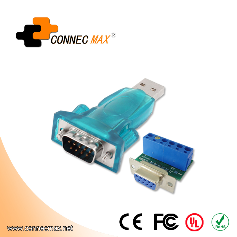 1-port USB to RS-485/422 Serial Converter with ESD protection