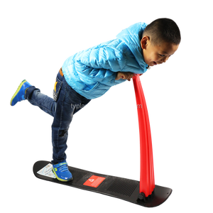 Kids Snow Scooter Ski Scooter Fold-up Snowboard Kick-Scooter Sledge for Christmas
