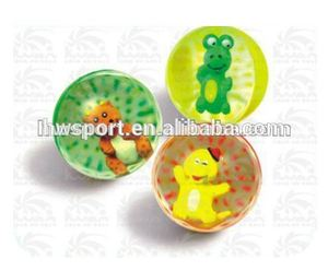 Customize clear bouncing ball