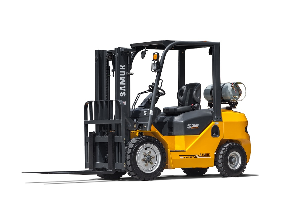 Samuk 3ton Gas Forklift with Japan engine