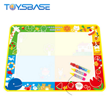 2018 Kids New Water Drawing Toy Giant Aqua Doodle Mat