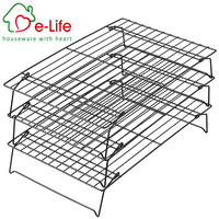 Stainless Steel 3-Tier Cooling Rack with 4 Stable Legs for Cookies, Cakes and More