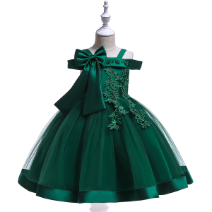 Baby Flower Dress Princess Dresses For Kids Children Cny Clothes L5081