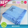 All Seasons Collection Micro Fleece Plush Solid F/Q Blanket