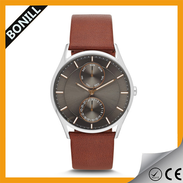 Multri-function mens day date watch, day of the week watch, watch day month year,