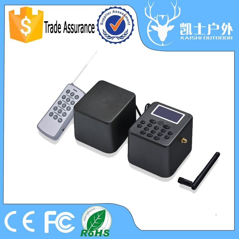 Manufacturer Electronic 50W Download Voice Quail Duck Hunting Equipment With Timer Amd Remote