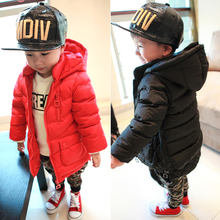 Children s clothing autumn and winter male female child thickening wadded jacket outerwear 01 2 3