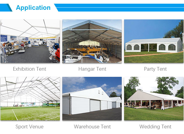 Customized Design 200/500/1000 people large events wedding party tent