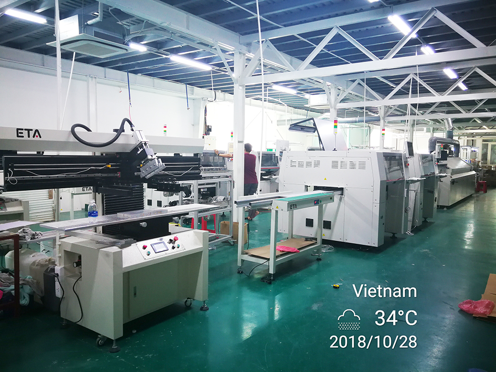 L008 Automatic  SMT Machine for LED Modules on Aluminum PCB
