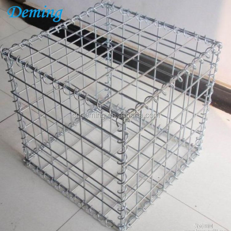 Super quality welded gabion box price for flood bank