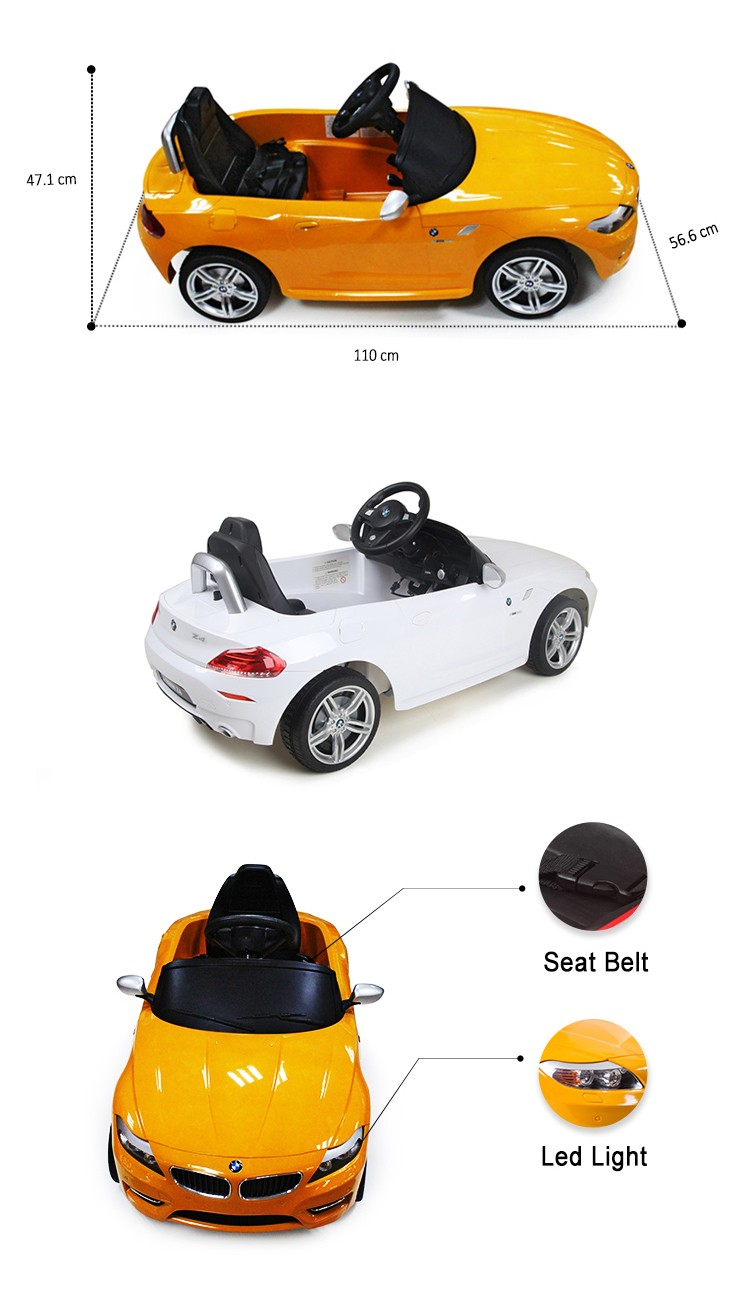 RASTAR rechargeable battery bmw kid car