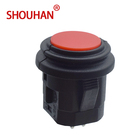 KA7-1112FLN Mini Red Self-locking Touch On/Off Switch ip65 2 pins Push Button Switch