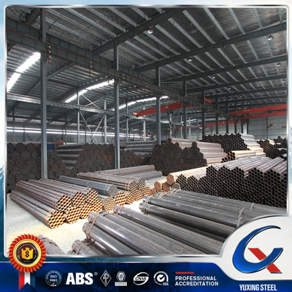 ASTM A53 A500 BS1387 Grade B carbon steel pipe with galvanized or oil BRAND YOUFA IN CHINA