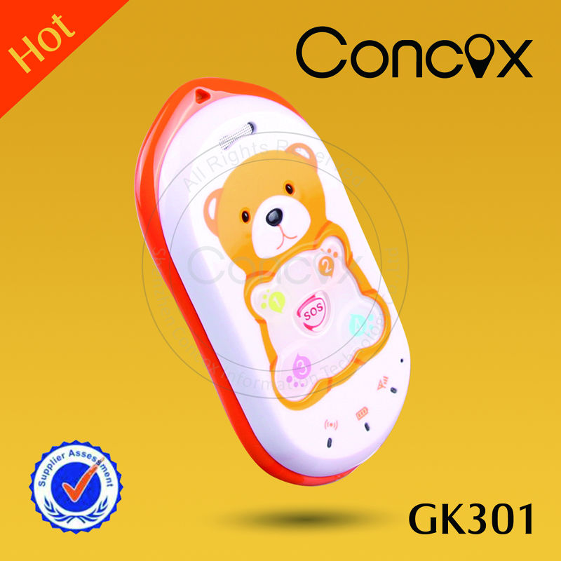 Concox kids phone gps GK301 bracelet sos button