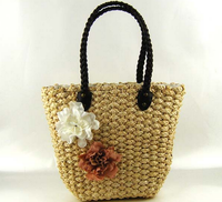 High quality Eco Friendly straw beach bag Best quality women beautiful supplier beach tote straw bags