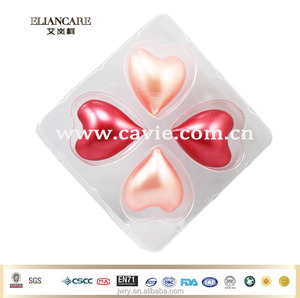 SCENTED HEART SHAPED BATH OIL BEADS