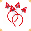 Christmas Decorations Red Christmas Trees Headband