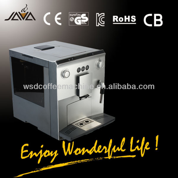 Russian Fully Auto Coffee Machine for Coffee Beans, Coffee Powder (WSD18-060)