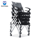 Office meeting stackable conference room training waiting chair with wheels