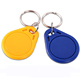 Factory price chip iso14443a 125khz rfid key fob key tag ABS