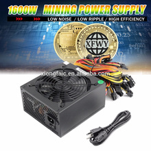 ETH Mining Power Supply 1600W For ATX Mining Machine Support RX 470/480 RX 570/580 Graphics Card 6 GPU Mining PSU