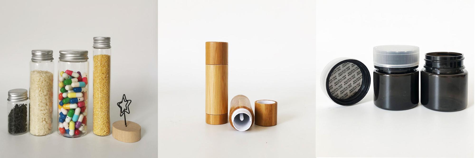 Caixa de tubo de papel de embalagem Eco friendly costume impresso embalagem de tubo de papel para o frasco de óleo essencial