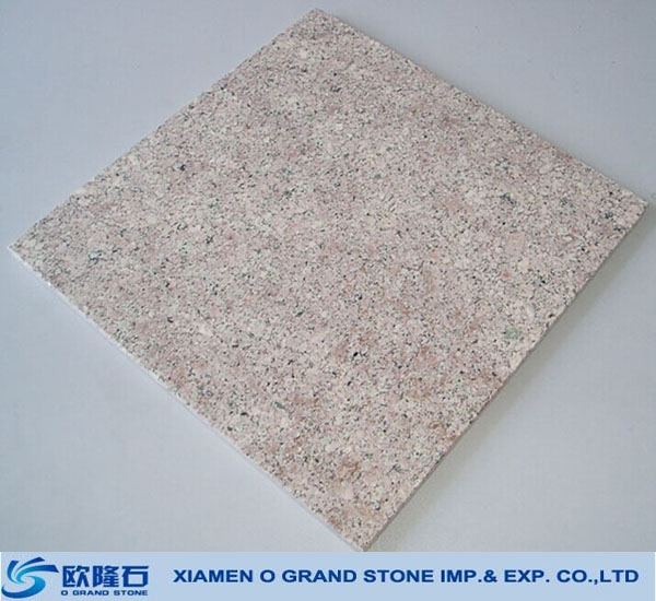 G611 almond mauve granite different types of chinese floor tiles