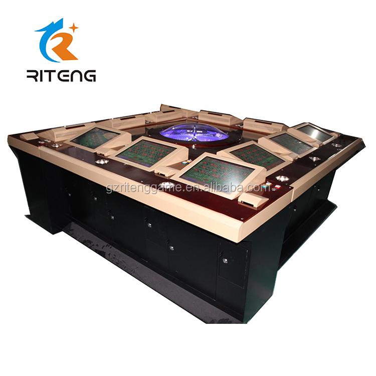 6 player roulette machine