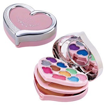 new small 3 in 1 make up makeover cosmetics eyebrow