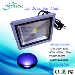 white 15000K blue waterproof ce rohs 10w 20w 30w 50w 70w 80w 100w 200w 300w 400w chinese coral reef used led aquarium light
