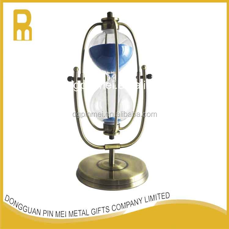 High quality metal 30 minutes sand clock / hourglass